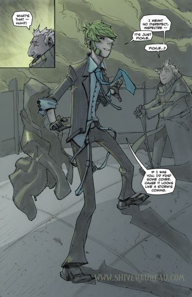 Welcome To London Chapter 1 Page 3