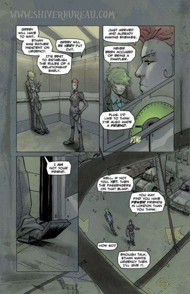 Welcome To London Chapter 1 Page 13