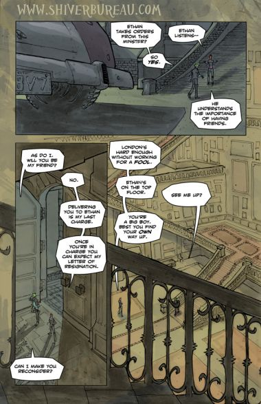 Welcome To London Chapter 1 Page 17