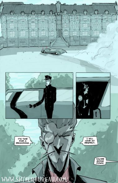 Welcome To London Chapter 7 Page 12
