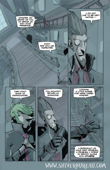 Welcome To London Chapter 7 Page 16