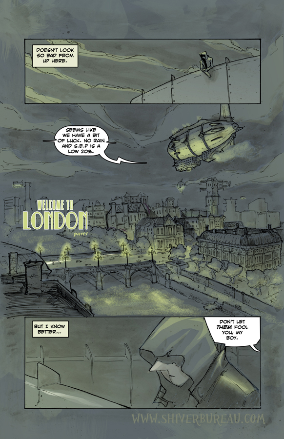 Welcome To London Chapter 1 Page 1