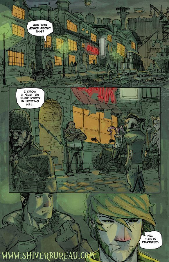 Welcome To London Chapter 2 Page 10