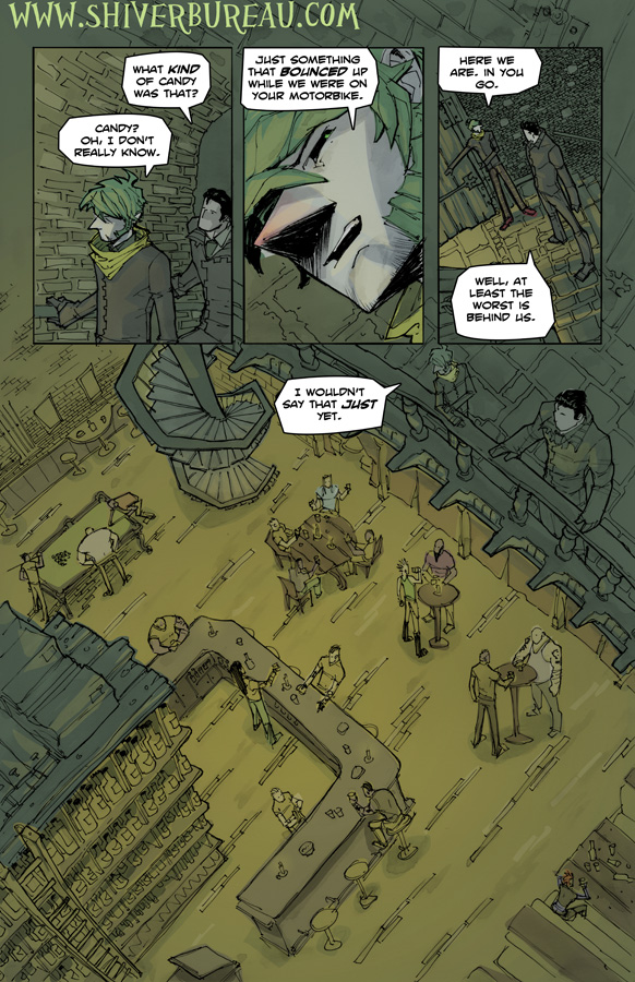 Welcome To London Chapter 2 Page 12