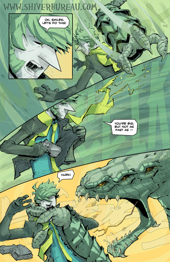 Welcome To London Chapter 3 Page 1