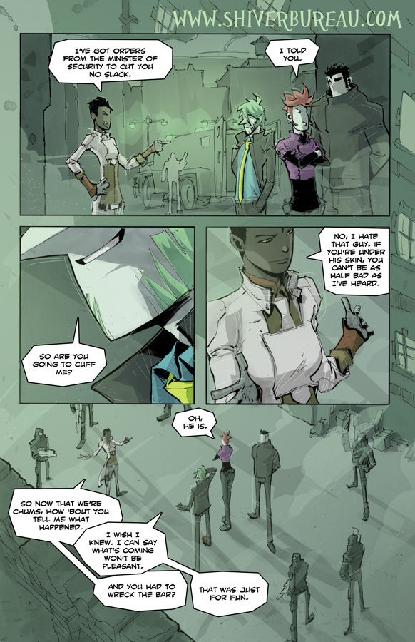 Welcome To London Chapter 3 Page 6