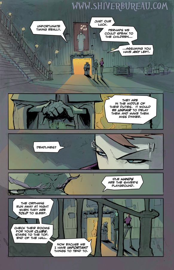 Welcome To London Chapter 3 Page 18