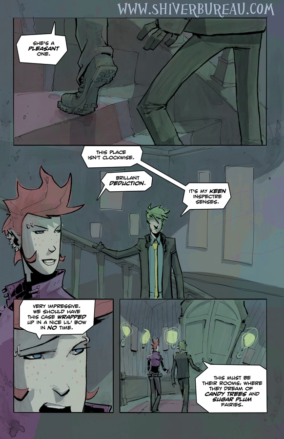 Welcome To London Chapter 3 Page 19