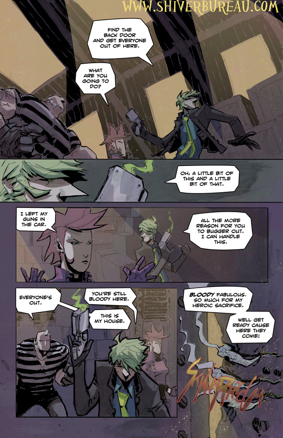 Welcome To London Chapter 4 Page 10
