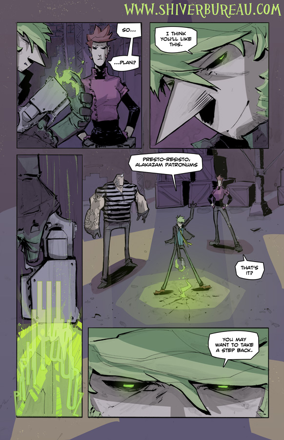 Welcome To London Chapter 4 Page 12