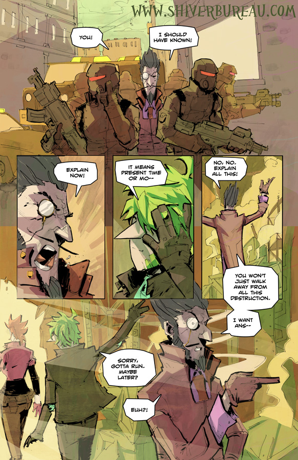 Welcome To London Chapter 5 Page 4