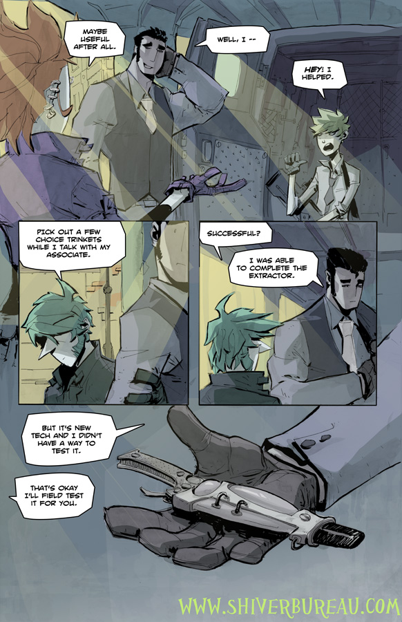 Welcome To London Chapter 5 Page 9