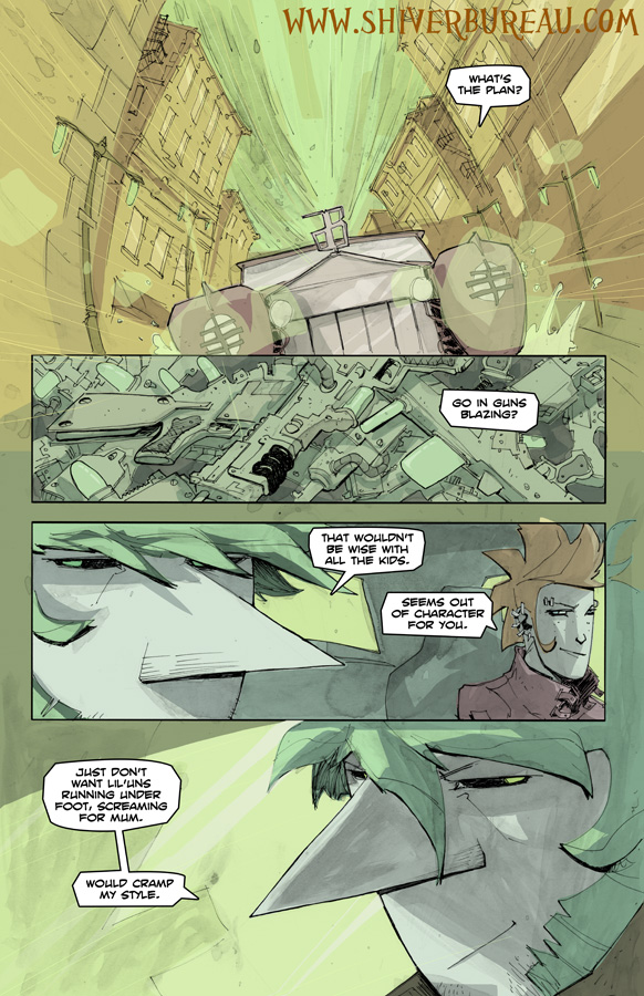 Welcome To London Chapter 5 Page 12