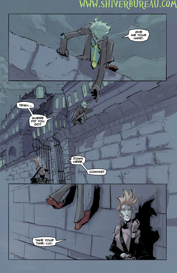 Welcome To London Chapter 5 Page 15