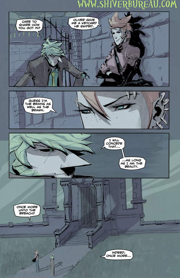 Welcome To London Chapter 5 Page 16