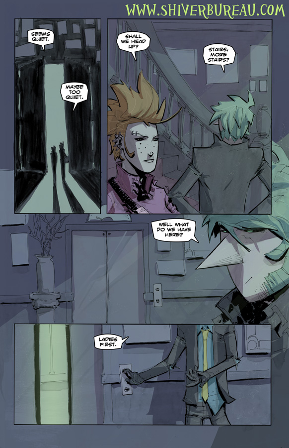 Welcome To London Chapter 5 Page 17