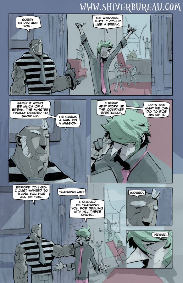 Welcome To London Chapter 7 Page 15
